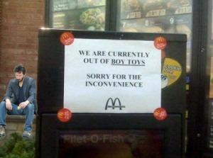 Sad Keanu MacDonald's