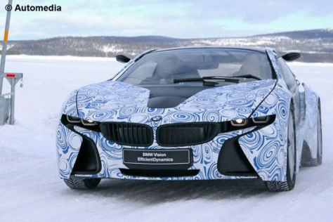 BMW i8 Spy Car