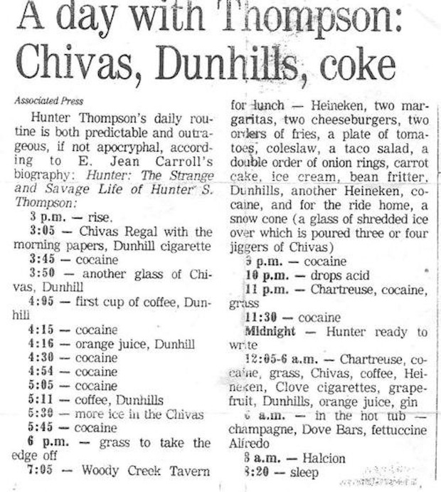 The Strange and Savage Life of Hunter S. Thompson
